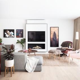 гостиная в современном стиле интерьер фото