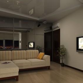 гостиная площадью 17 кв м идеи интерьера