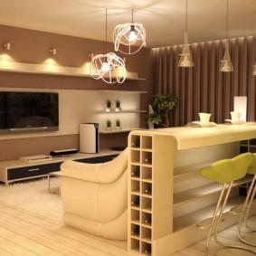 гостиная площадью 17 кв м дизайн
