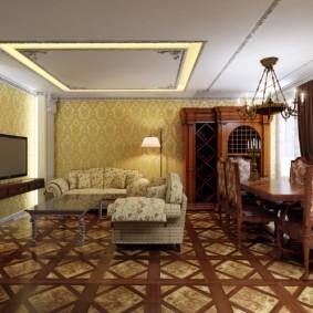 гостиная площадью 17 кв м фото дизайна