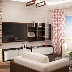 гостиная площадью 17 кв м идеи декор