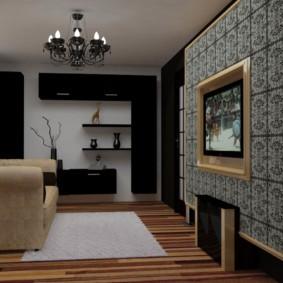 гостиная площадью 17 кв м идеи декора
