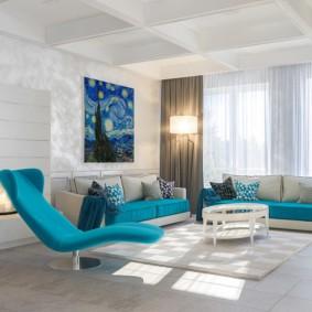 гостиная комната в светлых тонах дизайн