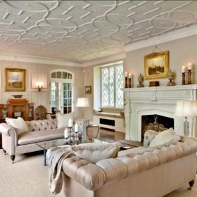 гостиная комната в светлых тонах дизайн фото