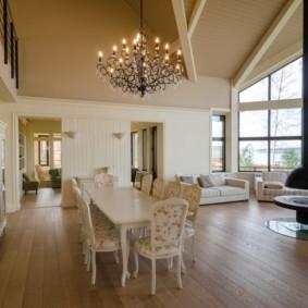 гостиная комната в светлых тонах декор фото