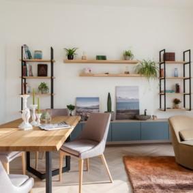гостиная комната в светлых тонах фото декор
