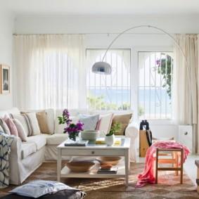 гостиная комната в светлых тонах идеи декор