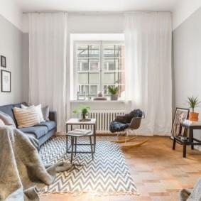 гостиная комната в светлых тонах идеи декора