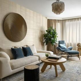 гостиная комната в светлых тонах оформление фото