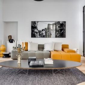 гостиная комната в светлых тонах варианты фото