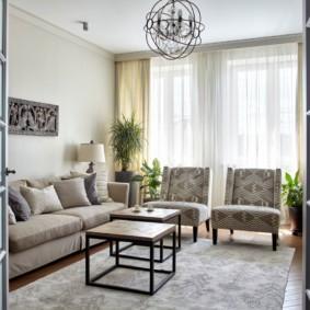 гостиная комната в светлых тонах варианты идеи