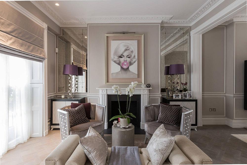 гостиная комната в светлых тонах фото дизайн