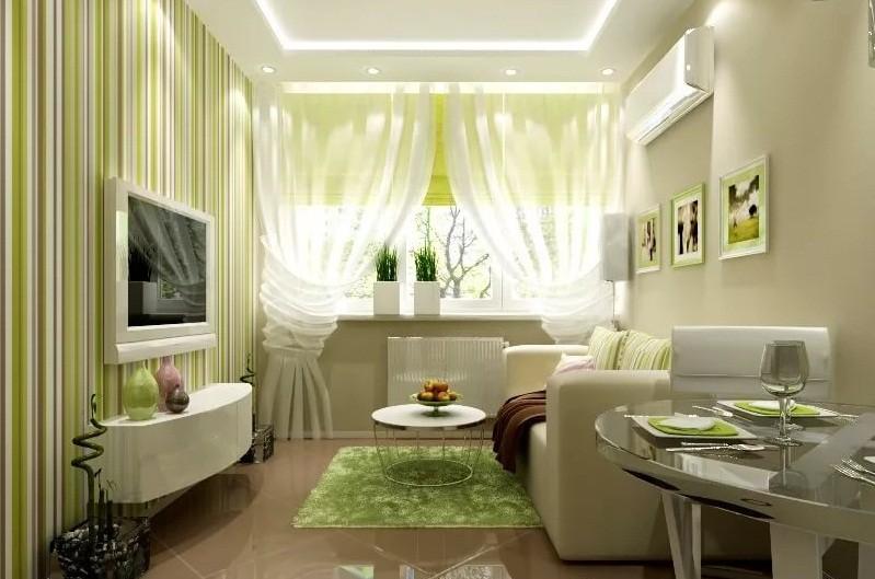 бело зеленая гостиная фото для гифок