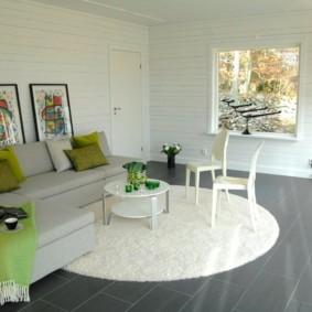 гостиная комната в зелёном цвете идеи оформление