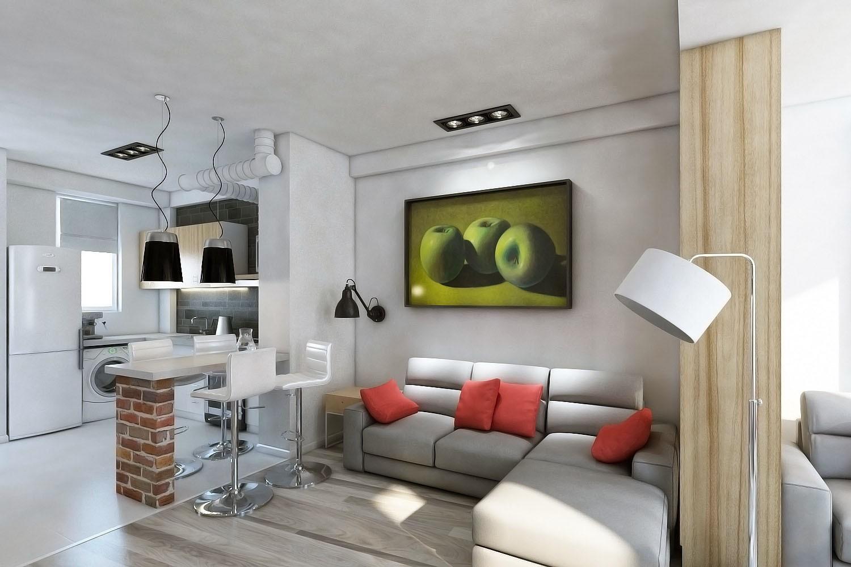 гостиная площадью 16 кв м идеи интерьера