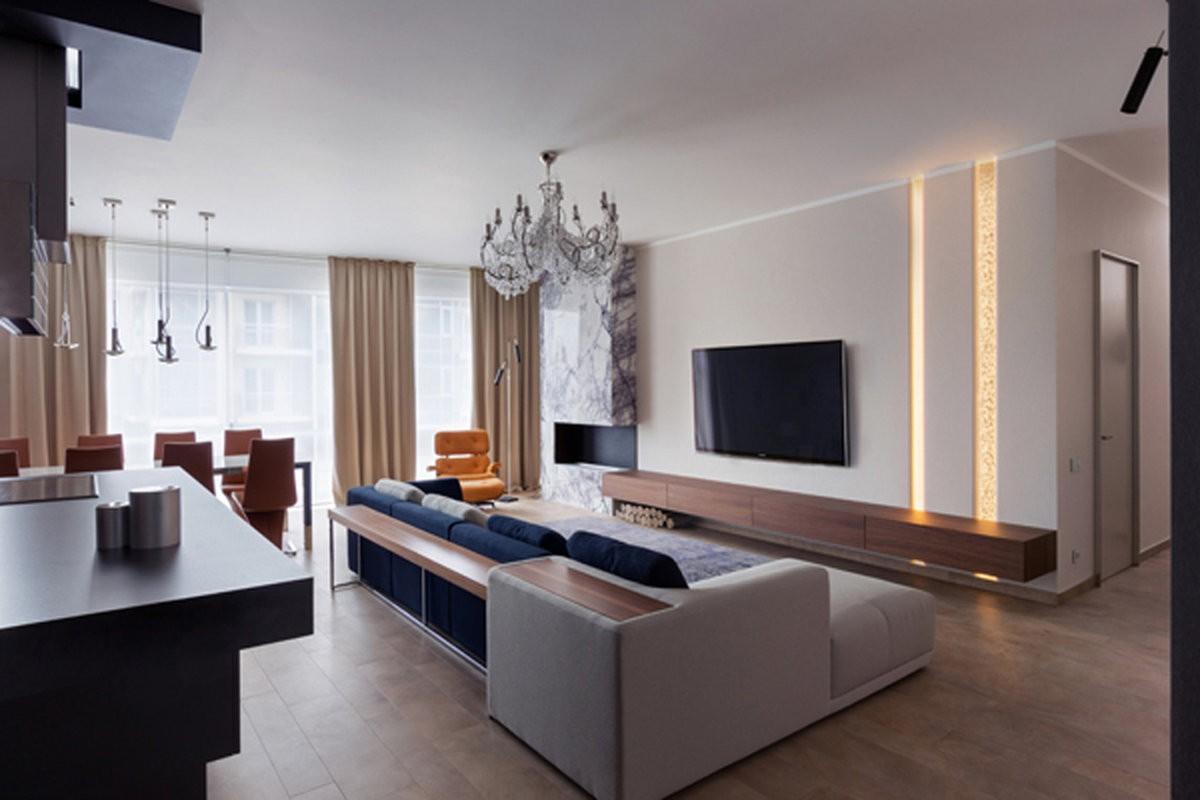 гостиная современный стиль