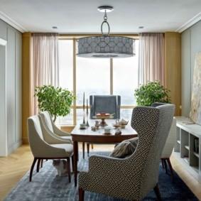 гостиная в американском стиле фото дизайна