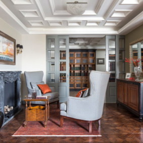 гостиная в американском стиле дизайн идеи