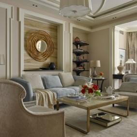 гостиная в американском стиле идеи декора