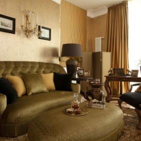 гостиная в американском стиле фото интерьер