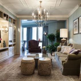 гостиная в американском стиле виды оформления