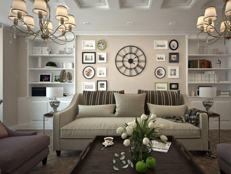 гостиная в американском стиле дизайн фото
