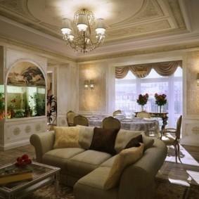 гостиная в классическом стиле фото декор