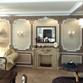 гостиная в классическом стиле интерьер идеи
