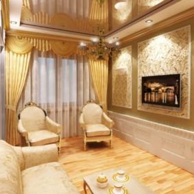гостиная в классическом стиле декор идеи