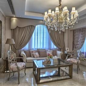 гостиная в классическом стиле идеи интерьера
