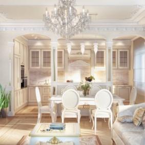 гостиная в классическом стиле фото оформление