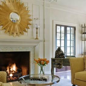гостиная в классическом стиле фото оформления