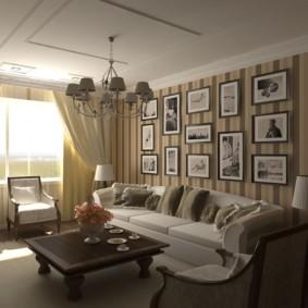 гостиная в классическом стиле идеи оформления