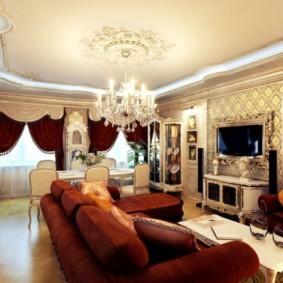 гостиная в классическом стиле фото дизайна