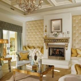 гостиная в классическом стиле дизайн идеи