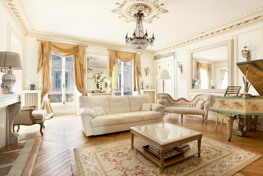 гостиная классическом стиле идеи