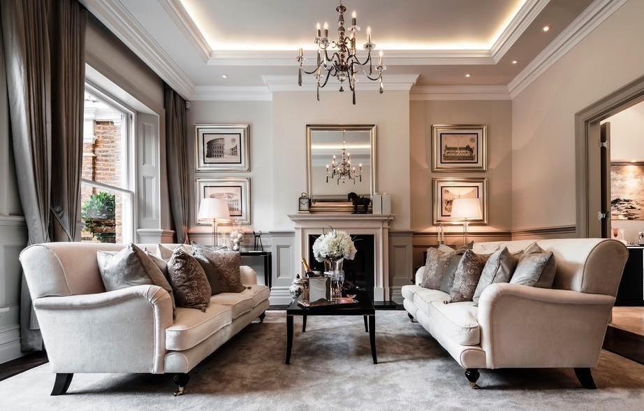 гостиная в классическом стиле красивые варианты