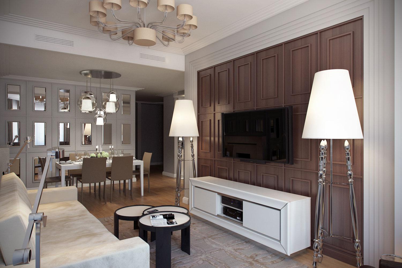 гостиная в классическом стиле решения для интерьера
