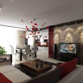 гостиная в современном стиле идеи дизайна