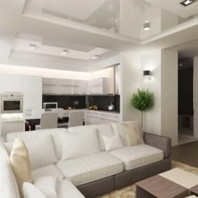 гостиная в современном стиле декор идеи
