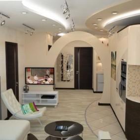 гостиная в современном стиле идеи декора