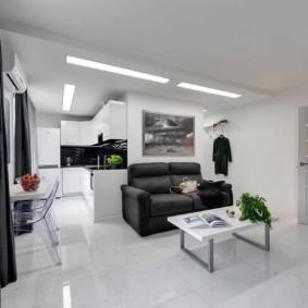 гостиная в современном стиле обзор