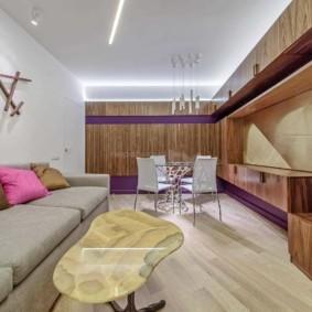 гостиная в современном стиле виды оформления