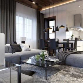 гостиная в современном стиле фото дизайна