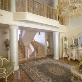 гостиная в стиле барокко фото дизайн