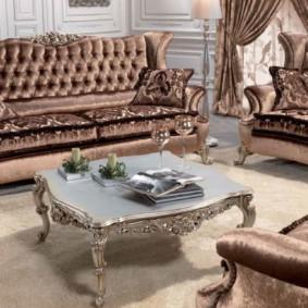 гостиная в стиле барокко идеи оформление