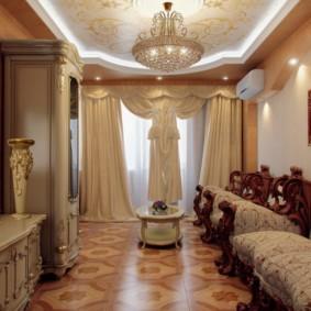 гостиная в стиле барокко идеи варианты
