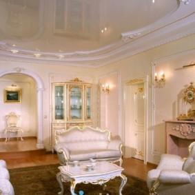 гостиная в стиле барокко виды