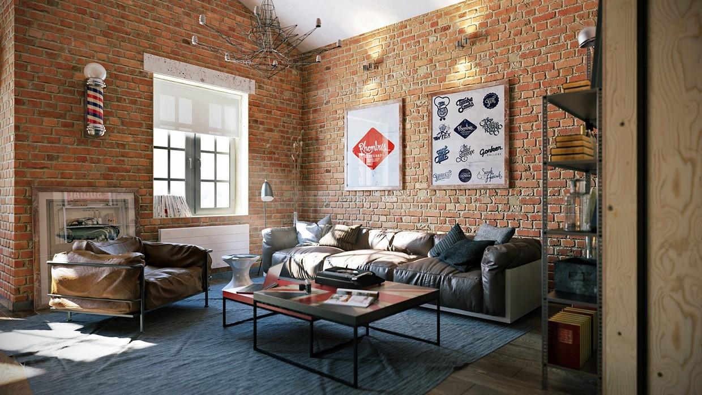 следовать арт лофт дизайн квартиры фото внешность человека форму