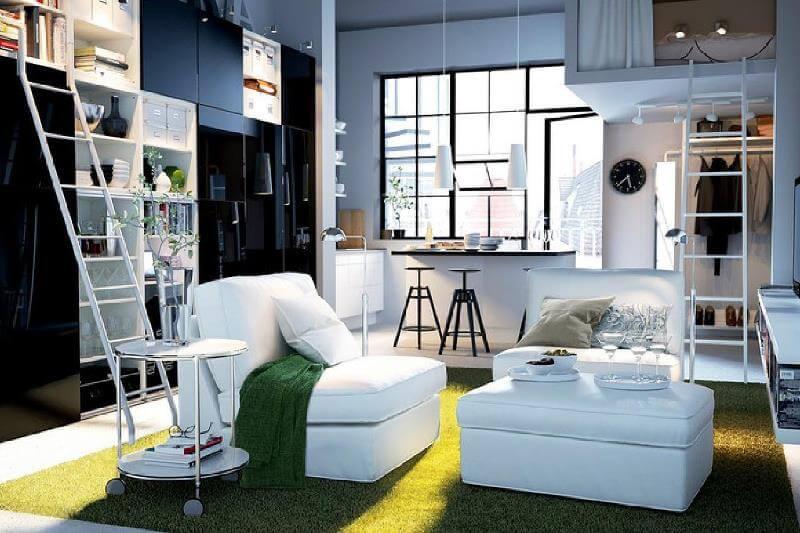 интерьер квартиры распашонки